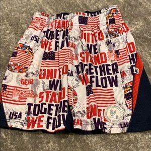 Boys flow society extra small lacrosse shorts